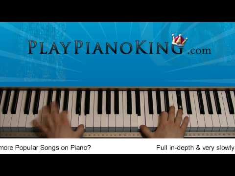 How to Play Airplanes by BoB ft. Hayley Williams Piano Tutorial
