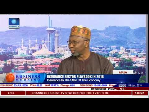 Analysing State Of Insurance Sector With NAICOM Commissioner Kari Pt.5 |Business Morning|