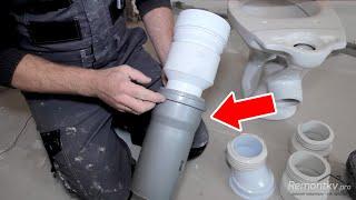 Как подключить унитаз к канализации, чтобы не затопить соседей? Обзор доступных вариантов.(СКИДКА 50% на видеокурс