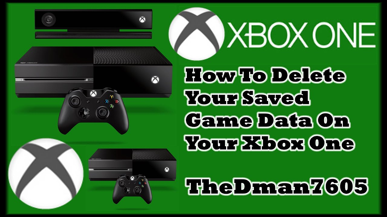 How to delete game saves on xbox one - Microsoft Community