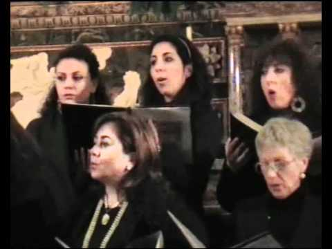 Coro Quis ut Deus - Nella grotta (mel. tedesca, arm. Stacul)