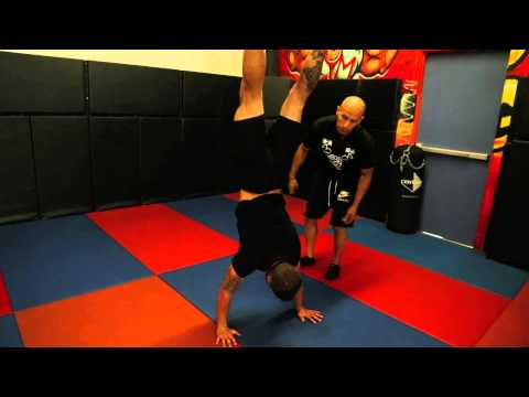 How To Perform A Handstand with Frank Medrano at Metroflex LBC