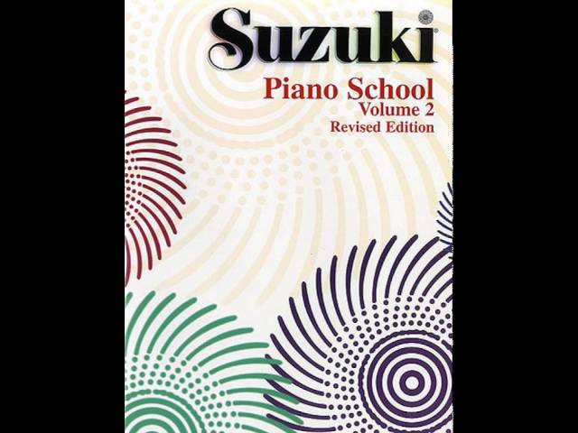Suzuki Piano School Book 2  Valery Lloyd-Watts - Ecossaise (J.N. Hummel)