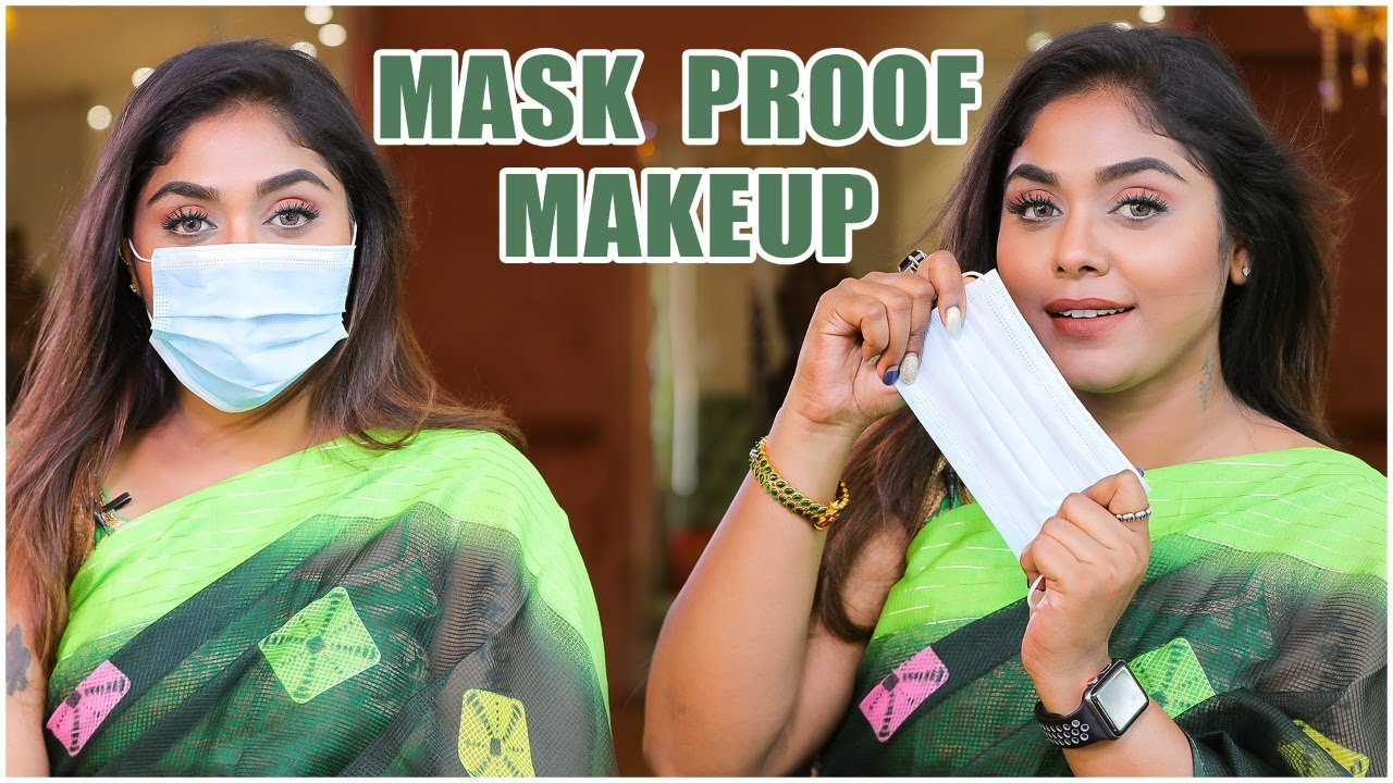 Easy Hacks To Do Transfer Proof Makeup | Mask Makeup 😷 Tips & Tricks Revealed | Sayswag