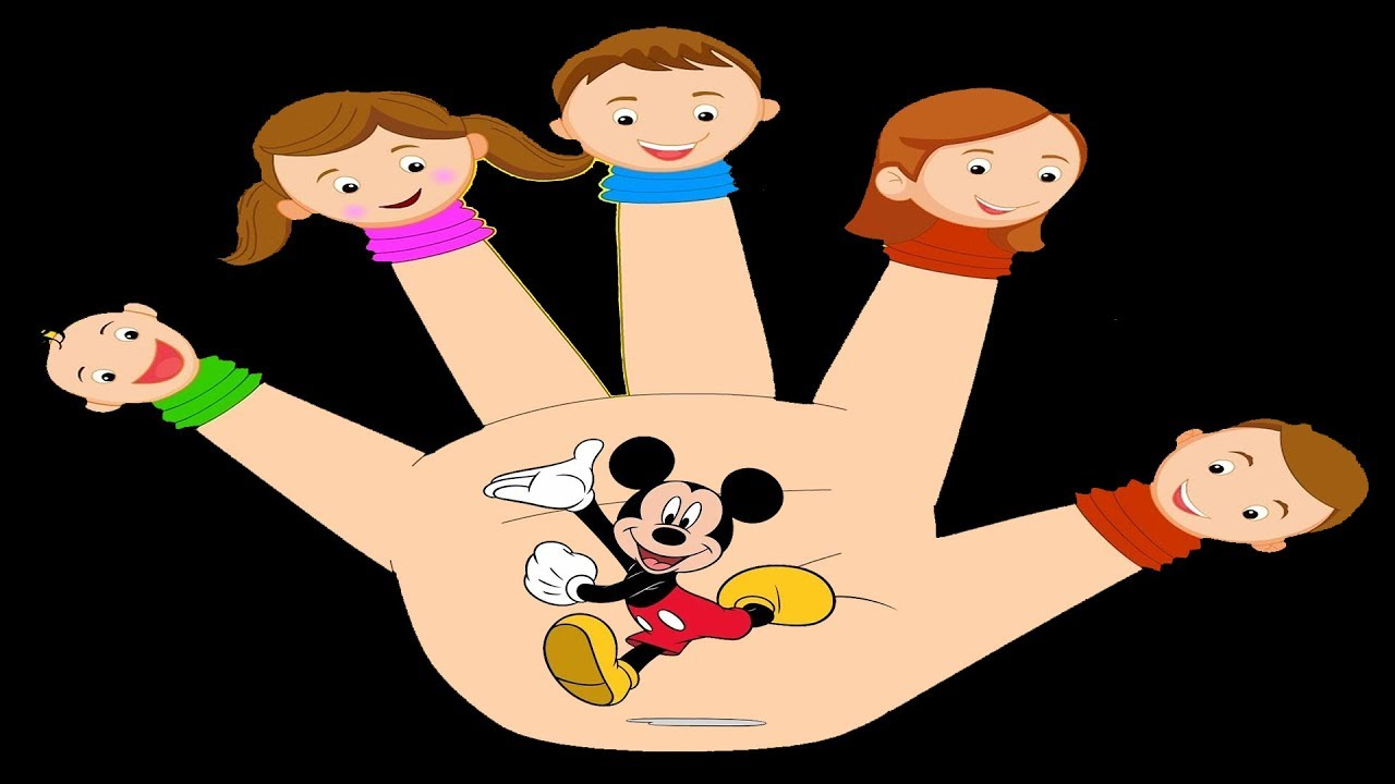 Song Daddy Friends Finger Mickey Drawing Family And