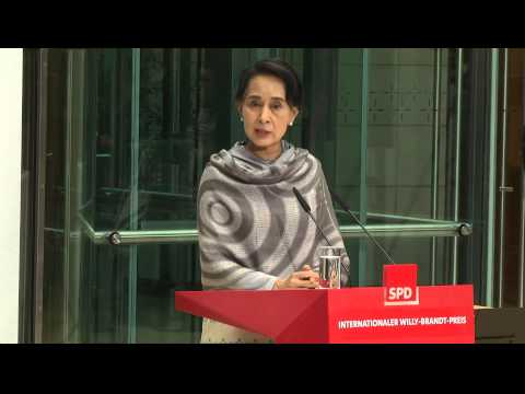 International Willy-Brandt-Preis 2014 - Aung San Suu Kyi (english version)