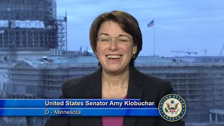 Sen. Amy Klobuchar Addresses Metropolitan State University And North Hennepin Community College