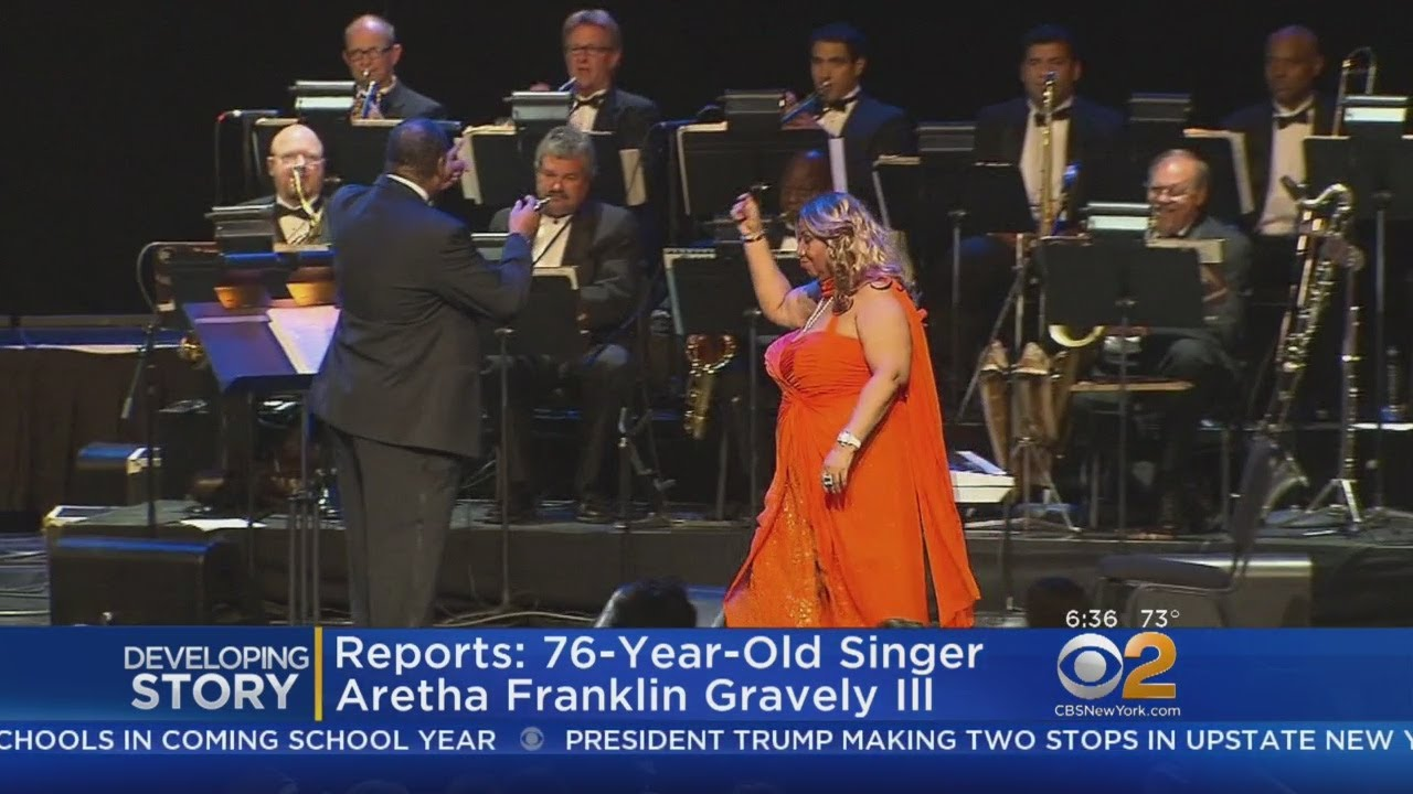 Aretha Franklin 'Gravely Ill' With Cancer (Reports)