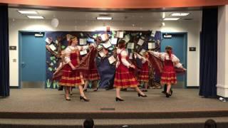 Regnart Elementary School International Festival. Russian dance. April 21, 2017.