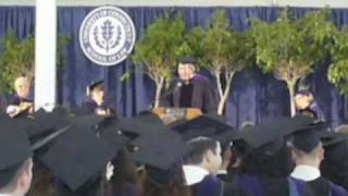 UConn Law Graduation -- Pat Linsey speech