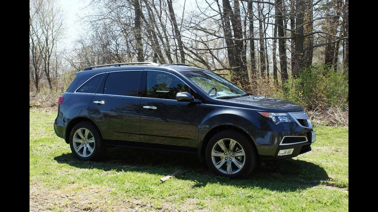 2013 acura mdx elite review youtube. Black Bedroom Furniture Sets. Home Design Ideas