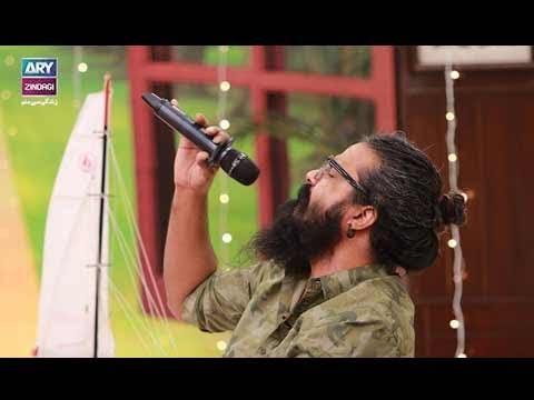 """Asrar sung a song """"Shakar Wandaan Re"""""""