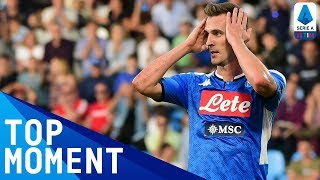 Milik's powerful ninth-minute drive! | Spal 1-1 Napoli | Top Moment | Serie A