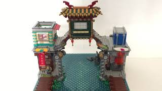 Welcome To Ninjago City Moc: Level 2 Add on - Expansion
