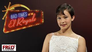 Cailee Spaeny - BAD TIMES AT THE EL ROYALE -Festa del cinema di Roma