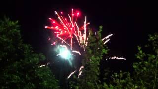 γιορτή Σταύρου Αρβανιτάκη - βεγγαλικά Πυρο-Πάνος