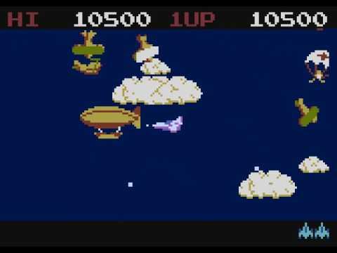 Time Pilot para computadoras Atari 8-bit