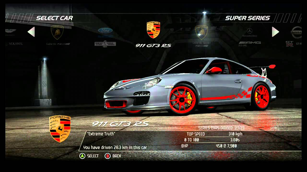 Nfs Hot Pursuit All Cars Racers Including Dlc Youtube