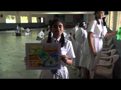 A.ASRITHA CLASS IX DRAWING COMPETITION 1st Prize Winner