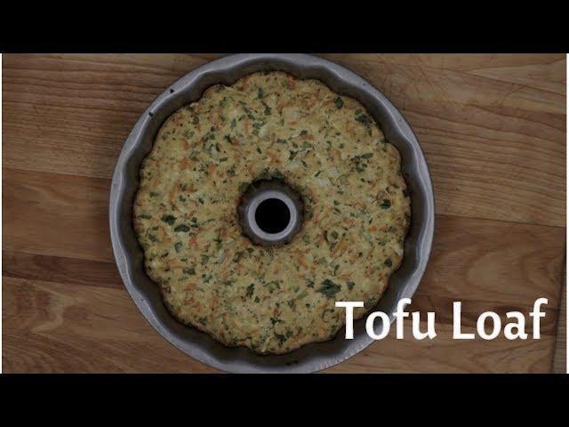 Tofu Loaf - Keto, Gluten Free, - Dairy Free and Eggless - Vegan