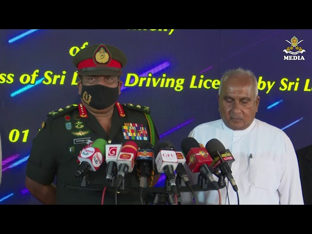 General Shavendra Silva ,CDS & Commander Of the Army Voicecut to Media @ AITSC Werahera-2 01.01.2021