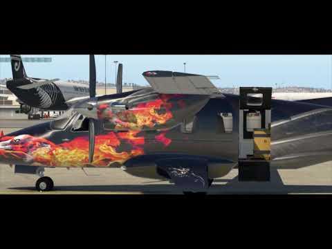 X- Plane 11, Evector EV-55 Beta v13, Live Stream Replay 10/05/2017