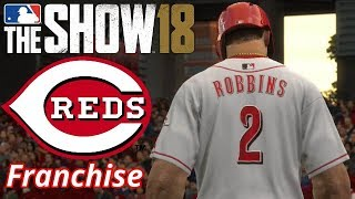 MLB The Show 18 (PS4) Reds Franchise Season 2021 Game 36-37 | Playing Every Season Game