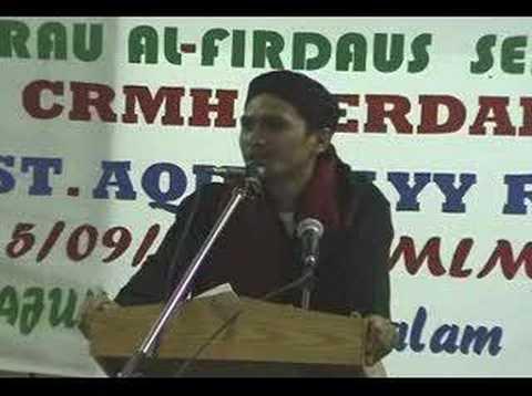 Ustaz Aqil Hayy - Hiburan Menurut Islam (Part-010)
