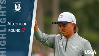 2019 U.S. Open, Round 2: Afternoon Highlights