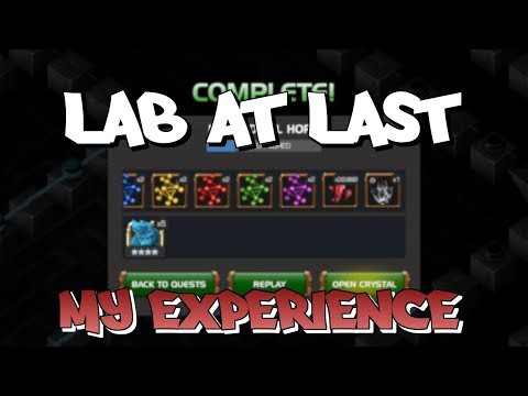 My Experience of a First Lab Run + Crystal Opening | Marvel Contest of Champions