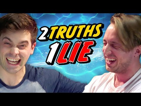 2 TRUTHS, 1 LIE - BEST FRIEND WATER CHALLENGE