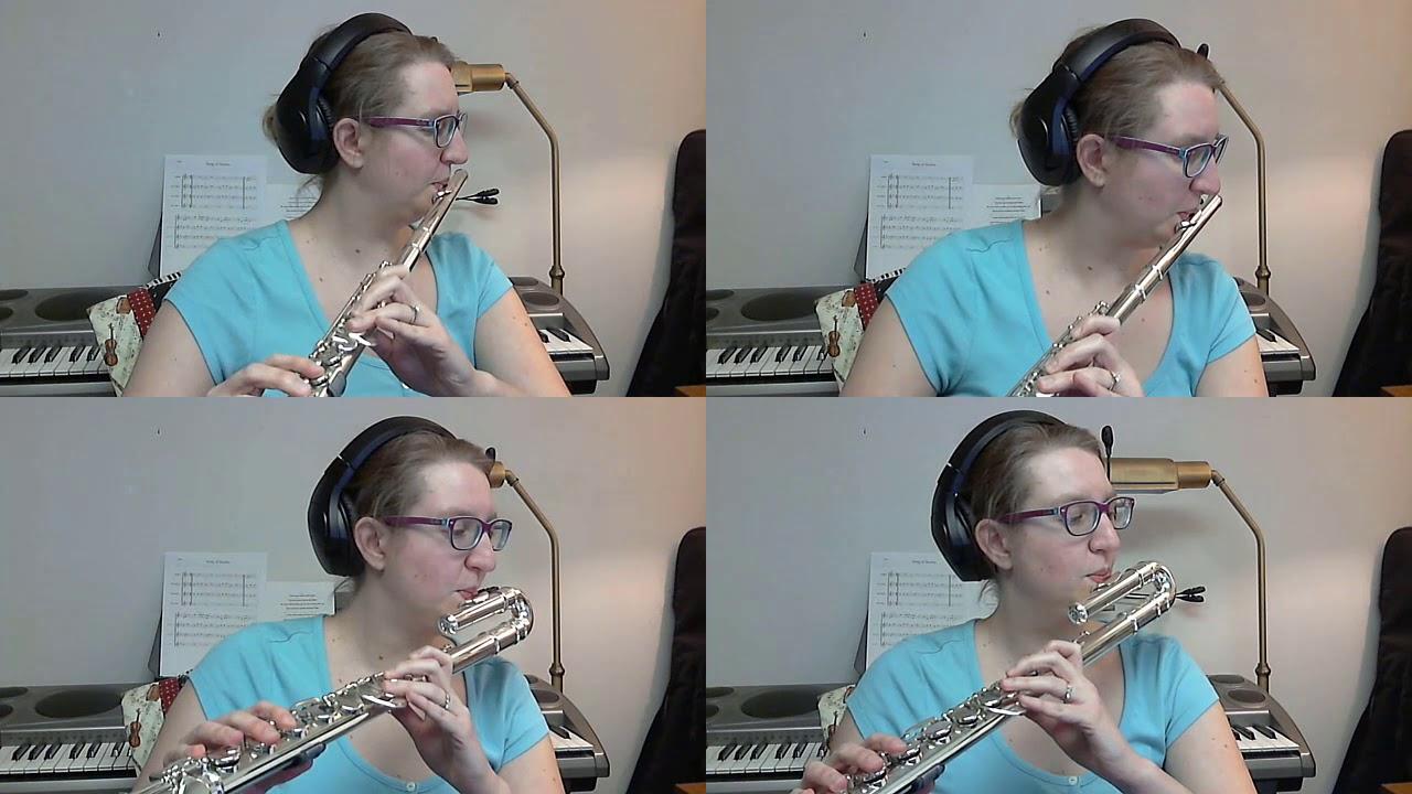 Amazing Grace Flute Quartet - Ricky ...