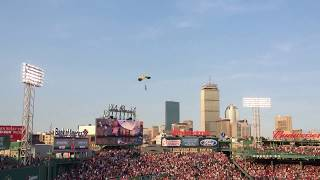 Coolest PRE-Game Flyover… Maybe ever