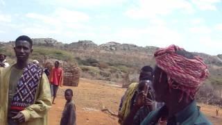 Borana region house building ceremony, Ethiopia