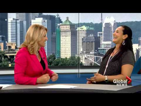 Sex Bible for Over 50, Jamie Orchard Global TV meets Dr Laurie Betito