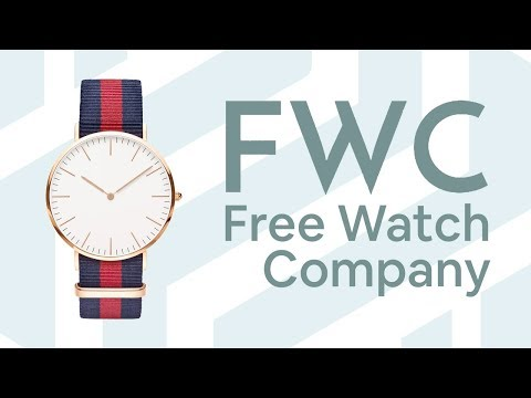 FREE DESIGNER WATCHES?! | Free Watch Company: Quick Review