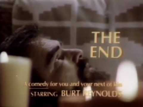 Burt Reynolds in The End 1978 TV trailer