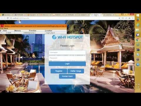 PHPMIXBILL v4.6 - MikroTik PHP API Installation for Mikrotik Hotspot PPPOE server on windows WAMP