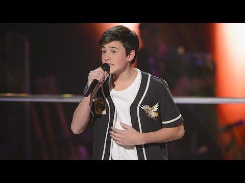 Chris sings The A Team   The Voice Kids Australia 2014