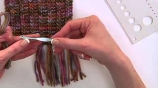 видео Как сделать помпон, кисточку, бахрому