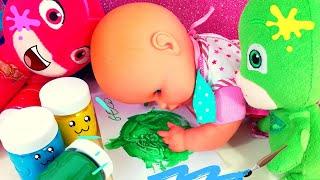 Pasticciamo con i colori insieme a Nenuco! 👩🎨💚 [Video Educativi per bambini]