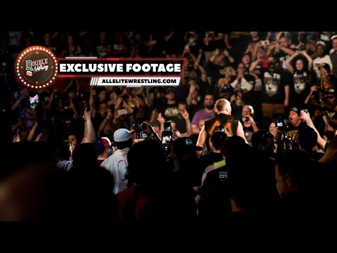 Exclusive AEW Double or Nothing Post Show Footage