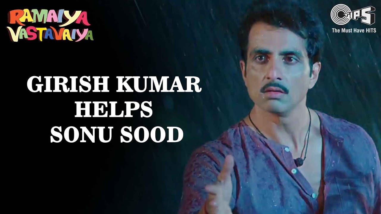 Sonu Sood & Girish Kumar Scene from Ramaiya Vastavaiya | Poonam Dhillon | Tips Films