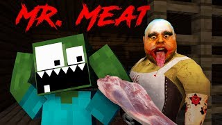 Monster School: MR. MEAT Horror Game Challenge - Minecraft Animation