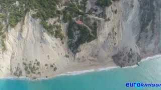 Εξαφανίστηκαν οι Εγκρεμνοί Λευκάδας (Disappeared Egkremni Lefkada)(Η φημισμένη παραλία «Εγκρεμνοί» της Λευκάδας, εξαφανίστηκε λόγω κατολισθήσεων, μετά το φονικό σεισμό (17/11/201..., 2015-11-18T18:04:31.000Z)