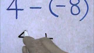Subtracting a Negative Number from a Positive Number