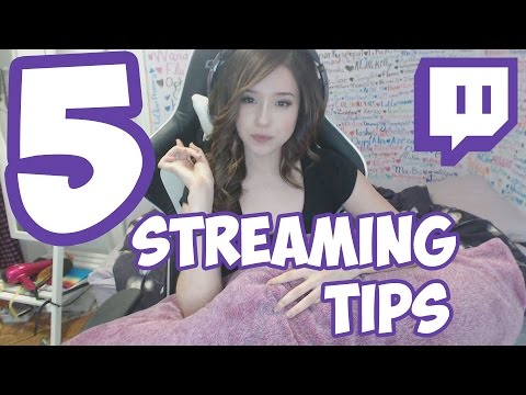 5 Tips For Streaming on Twitch - Pillow Talk with Poki | Pokimane