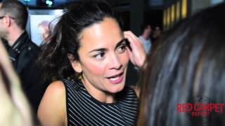 Alice Braga at the LA Premiere of Kill Me Three Times #KillMeThreeTimes Interview