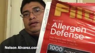 Como poner un filtro de aire de una casa