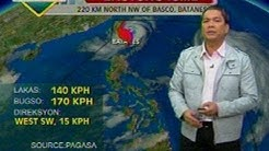 UB: Weather update as of 6 a.m. (Aug. 24, 2012)